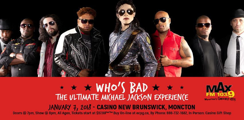 3277f02df Who's Bad - The Ultimate Michael Jackson Experience